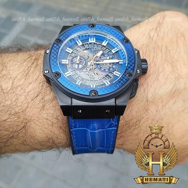 خرید ارزان ساعت هابلوت خاص مردانه مدل بیگ بنگ Big Bang BB7070 مشکی و آبی