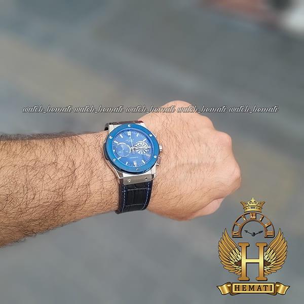 خرید اینترنتی ساعت هابلوت مردانه بیگ بنگ HU3M109 سرمه ای سه موتوره