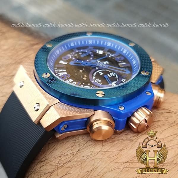 خرید ، قیمت ، مشخصات ساعت هابلوت مدل بیگ بنگ Hublot Big Bang HU3M201 قاب رزگلد و سرمه ای