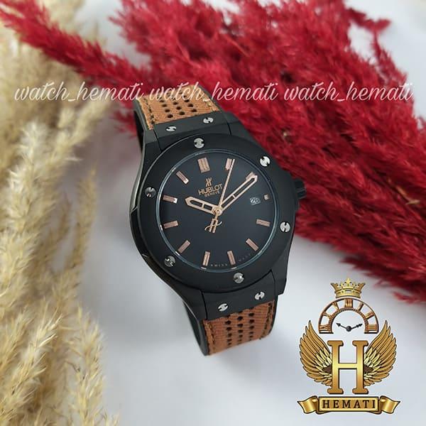 مشخصات ساعت زنانه هابلوت بیگ بنگ Hublot Big Bang HU1L402 تک موتوره قاب مشکی