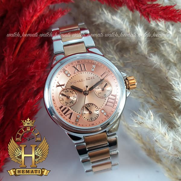 خرید ، قیمت ، مشخصات ساعت زنانه Michael Kors MK5760 نقره ای-رزگلد