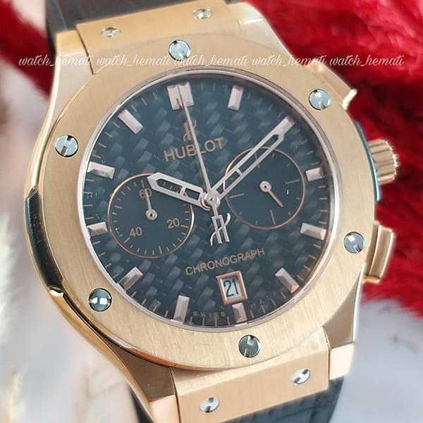 خرید ارزان ساعت هابلوت زنانه بیگ بنگ مدل Big Bang HU3L105سه موتوره رزگلد