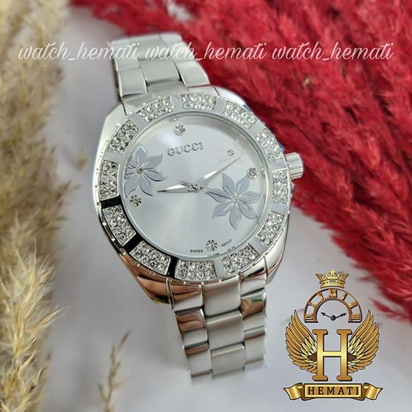 خرید ، قیمت ، مشخصات ساعت زنانه گوچی GUCCI 11093L نقره ای
