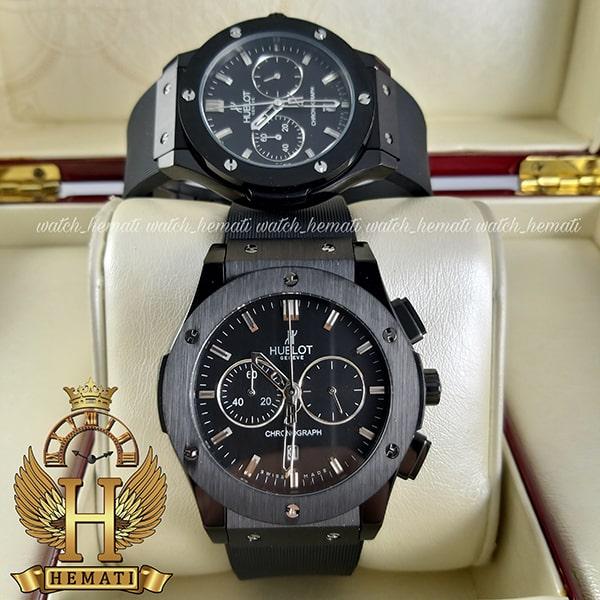 خرید ، قیمت ، مشخصات ساعت ست هابلوت بیگ بنگ مدل BB78890 Big Bang سه موتوره تمام مشکی