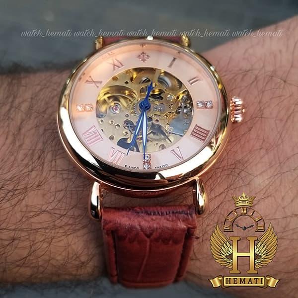 خرید ف قیمت ، مشخصات ساعت مردانه پتک فیلیپ اتوماتیک Patek Philippe PV900 صفحه اسکلتون