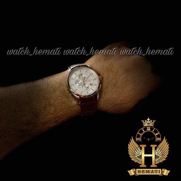 ساعت ست سیتیزن روی دست مردانه