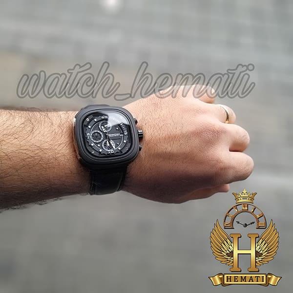 خرید ساعت سون فرایدی مردانه Sevenfriday مدل SF-M2/01-8796 فول دیت مشکی