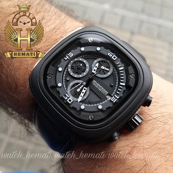 خرید آنلاین ساعت سون فرایدی مردانه Sevenfriday مدل SF-M2/01-8796 فول دیت مشکیخرید ساعت سون فرایدی مردانه Sevenfriday مدل SF-M2/01-8796 فول دیت مشکی