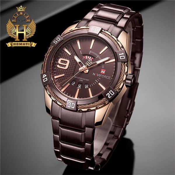 خرید ساعت مردانه نیوی فورس مدل naviforce nf9117m کافی