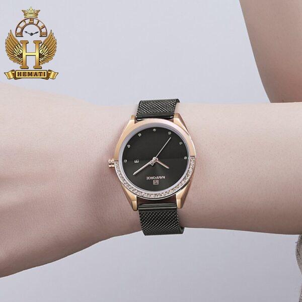 خرید ارزان ساعت زنانه نوی فورس مدل NF5015L در رنگبندی رزگلد ، نقره ای ، مشکی ، سرمه ای