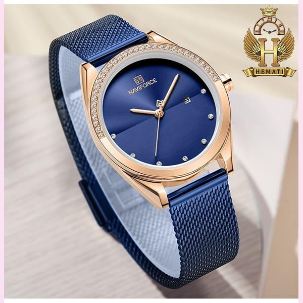 خرید انلاین ساعت زنانه نوی فورس مدل NF5015L در رنگبندی رزگلد ، نقره ای ، مشکی ، سرمه ای