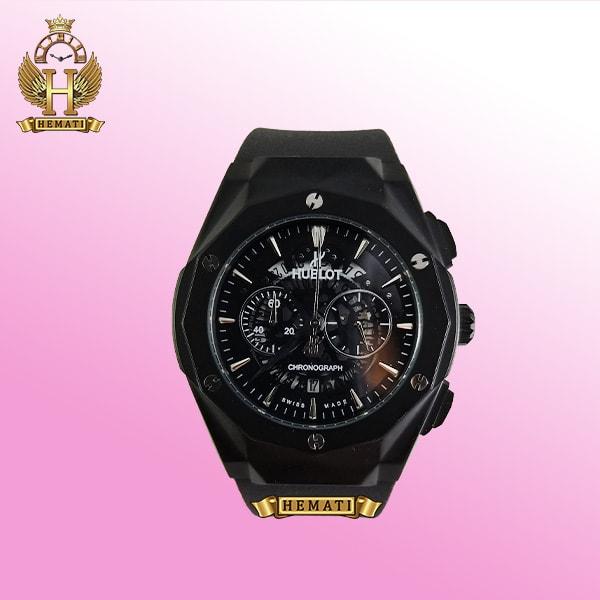 ساعت مردانه هابلوت بیگ بنگ Big Bang BB3046 قاب تراش رنگ مشکی