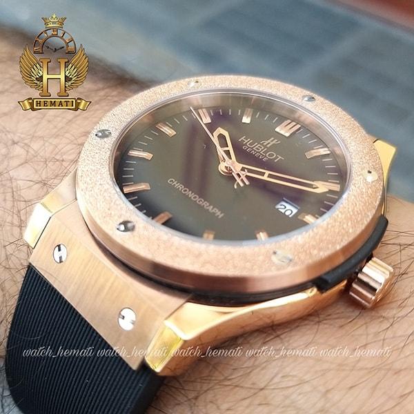 خرید ، قیمت ، مشخصات ساعت مردانه هابلوت مدل بیگ بنگ Big Bang HU1M103 دورقاب شنی تک موتوره