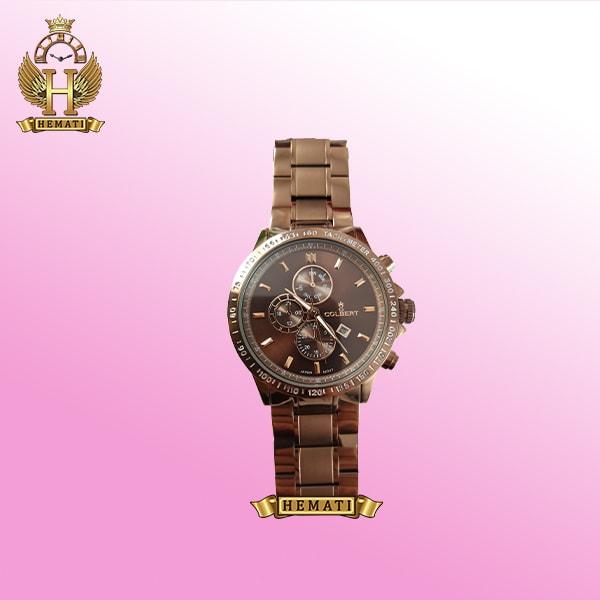 ساعت مچی مردانه کلبرت 046M به رنگ نسکافه ای (کافی)