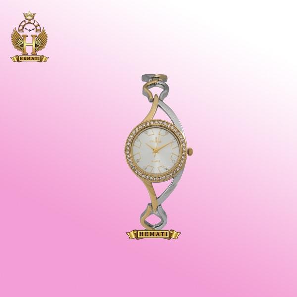 ساعت کلبرت زنانه مدل 054L نقره ای-طلایی