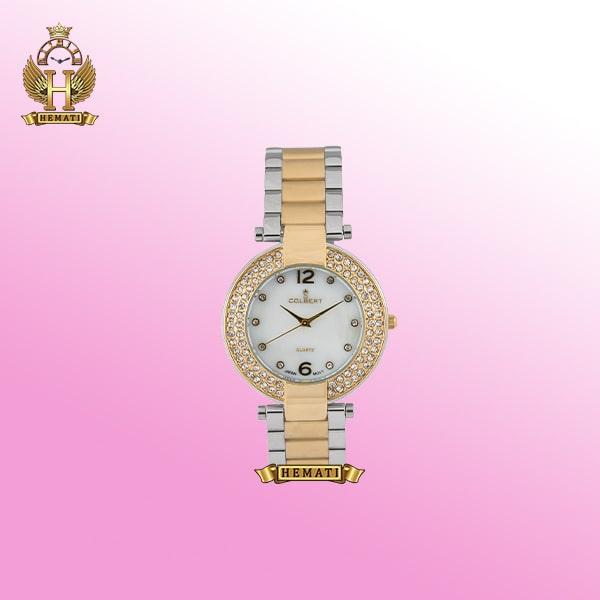 ساعت کلبرت زنانه مدل Colbert 065L نقره ای-طلایی