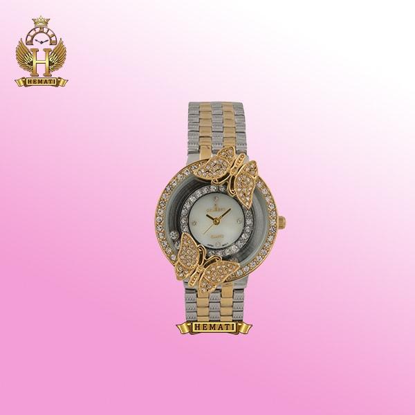ساعت کلبرت زنانه مدل 084L به رنگ نقره ای-طلایی