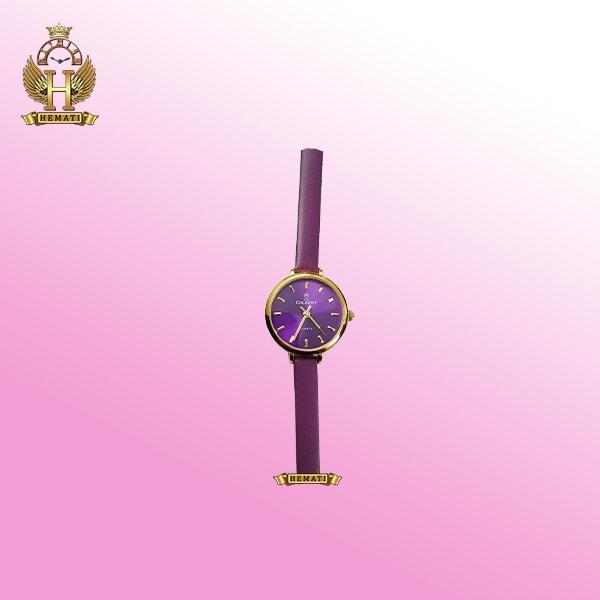 ساعت کلبرت دخترانه مدل 097L قاب طلایی