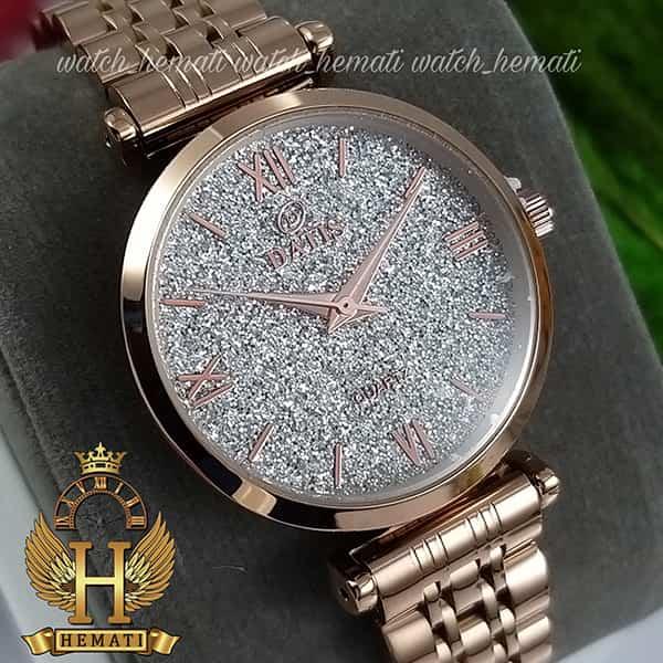خرید ساعت زنانه داتیس رزگلد مدل DATIS D8373FL