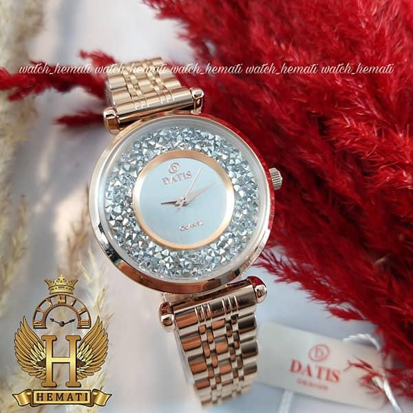 خرید ساعت زنانه داتیس رزگلذ مدل DATIS D8374DL