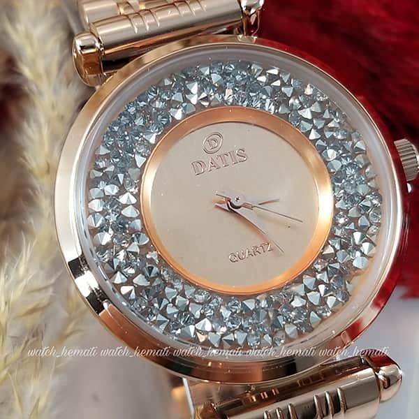 قیمت ساعت زنانه داتیس مدل DATIS D8374DL تمام رزگلد