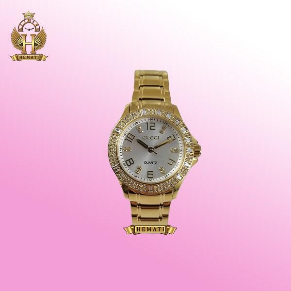 ساعت زنانه گوچی GUCCI 13059L طلایی