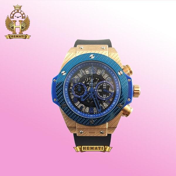 ساعت هابلوت مدل بیگ بنگ Hublot Big Bang BB6425 قاب آبی رنگ