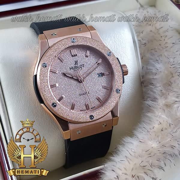 خرید ارزان ساعت هابلوت اسپرت بیگ بنگ Hublot Big Bang BB2261 رزگلد قاب شنی