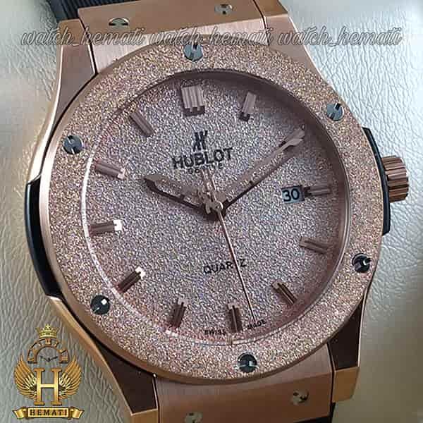 خرید ساعت مچی هابلوت اسپرت بیگ بنگ Hublot Big Bang HU1M102 رزگلد قاب شنی