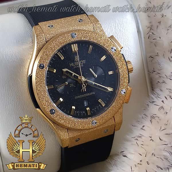 مشخصات ساعت مردانه هابلوت مدل HU3MM101 بیگ بنگ دورقاب شنی