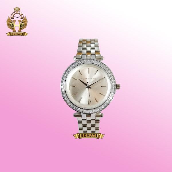خرید اینترنتی ساعت مچی زنانه مایکل کورس MK3364 نقره ای