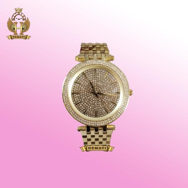 ساعت زنانه مایکل کورس طلایی مدل mk3438 طلایی