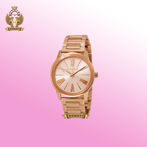 خرید ساعت مچی زنانه مایکل کورس MK3491 رزگلد