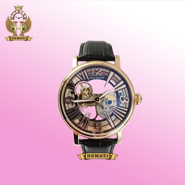 ساعت مردانه پتک فیلیپ صفحه اسکلتون مدل PT9090