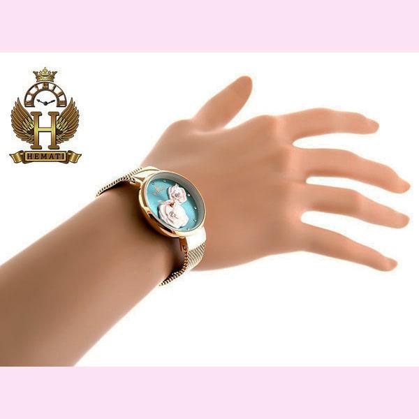 خرید ساعت مچی زنانه نیوی فورس مدل nf5013l قاب و بند و صفحه فیروزه ای