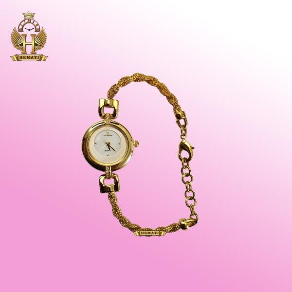 COLBERT 0172L ساعت زنانه کلبرت اورجینال بند مدل دستبندی به رنگ رزگلد