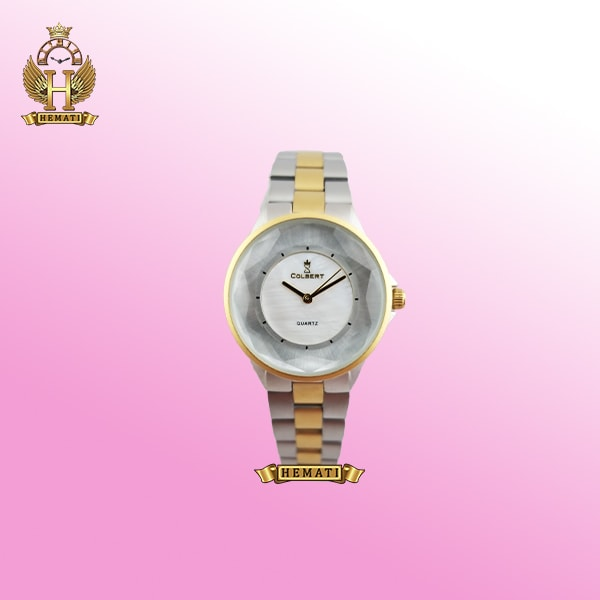 خرید ساعت زنانه کلبرت 0174L COLBERT نقره ای ،طلایی ،نقره ای طلایی