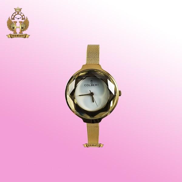 خرید ساعت زنانه کلبرت 0187L طلایی اورجینال