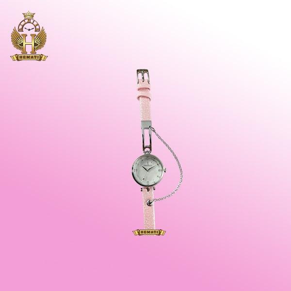 خرید ساعت مچی دخترانه 0196l colbert قاب نقره ای و در رنگبندی بند چرم متنوع