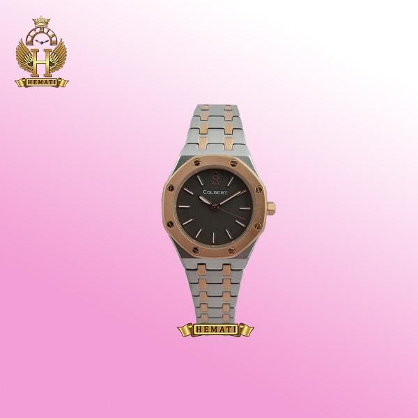خرید ساعت کلبرت 0198l colbert krvi نقره ای -رزگلد طرح ساعت ایپی apدر انواع مدل های مردانه و زنانه، به صورت اورجینال و با گارانتی و جعبه شیک شرکتی فقط در گالری ساعت همتی