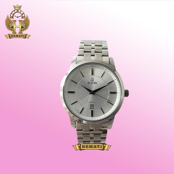 خرید ساعت مردانه داتیس D8187G نقره ای استیل اورجینال