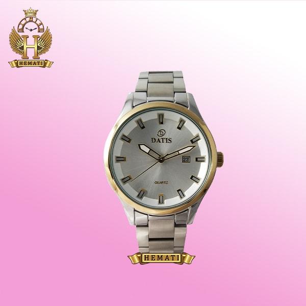 خرید ساعت مردانه داتیس Datis D8200G نقره ای اورجینال عقربه ای
