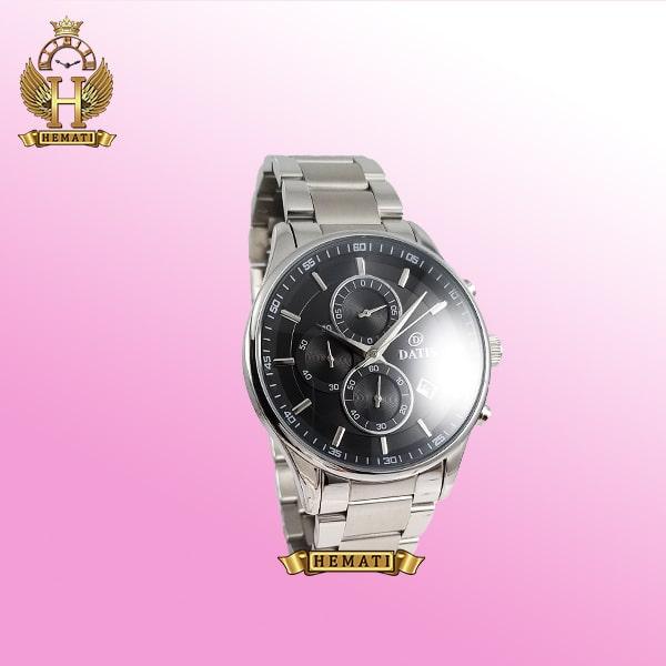 خرید ساعت مردانه داتیس مدل D8297fG نقره ای کرنوگراف دار اورجینال