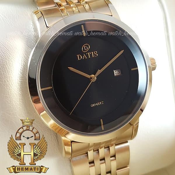 خرید اینترنتی ست ساعت مردانه و زنانه مدل Datis D8304LG رنگ طلایی اورجینال