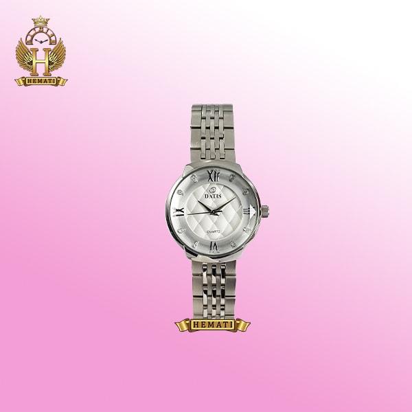 ساعت زنانه داتیس مدل D8353AL نقره ای رنگ سیلور اورجینال ایندکس یونانی