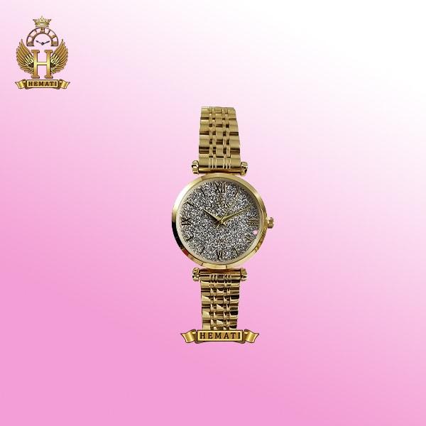 ساعت زنانه داتیس مدل D8373FL طلایی اورجینال صفحه ساعت شنی