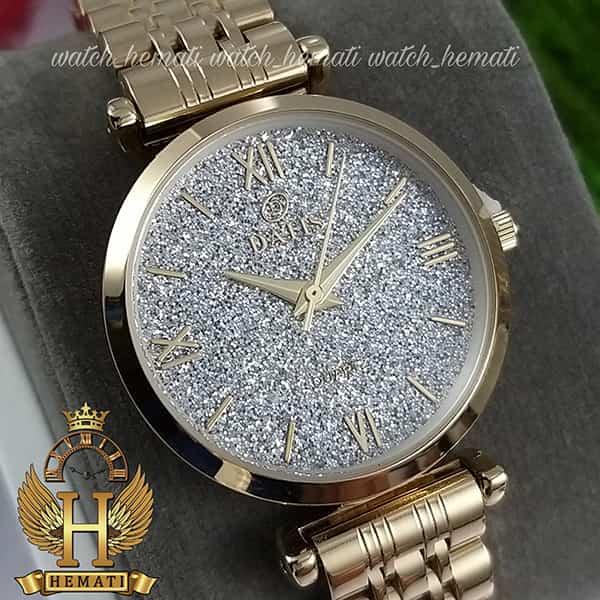 خرید ساعت زنانه داتیس طلایی مدل DATIS D8373FL