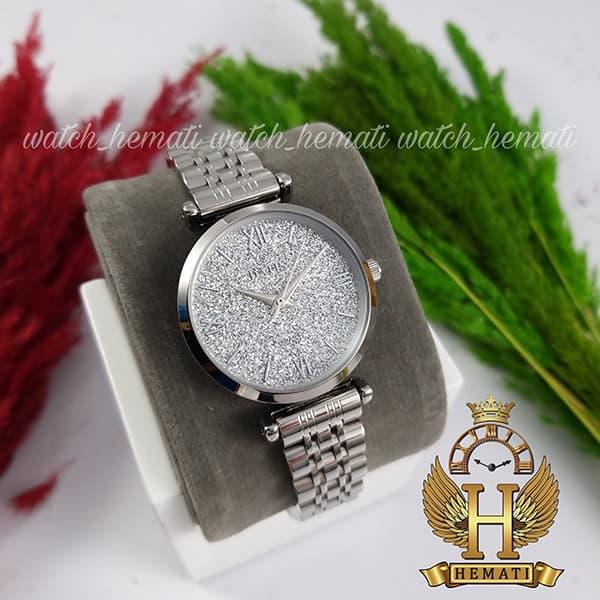 خرید ساعت زنانه داتیس اورجینال نقره ای مدل DATIS D8373FL