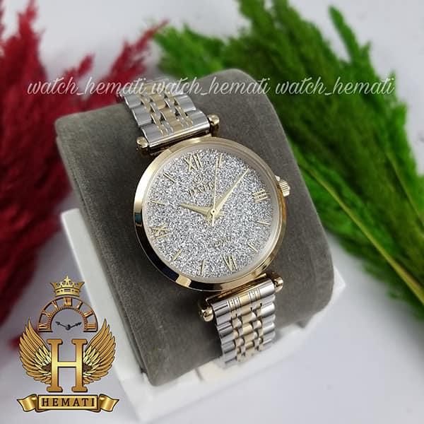 خرید ساعت زنانه داتیس نقره ای طلای مدل DATIS D8373FL