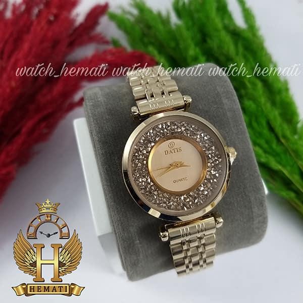 خرید ساعت مچی زنانه داتیس مدل DATIS D8374DL رنگ طلایی